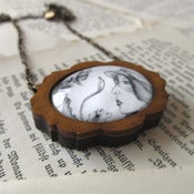 Image of We Were Explorers 'Isabelle' Framed Pendant