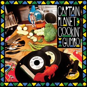 Image of Captain Planet - Cookin' Gumbo 2XLP (Download Code Included)