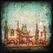 "Image of ""Hollywood Series, Chinese Theater"" <br> Sizes: 4x4"", 6x6"" & 8x8"""