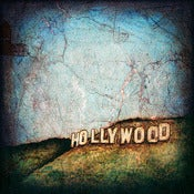 "Image of ""Hollywood Series, Sign"" <br> Sizes: 4x4"", 6x6"" & 8x8"""