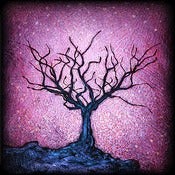 "Image of ""Solo Tree Dormant 2 Purple"" <br> Sizes: 4x4"", 6x6"" & 8x8"""