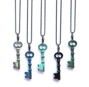 Image of Skeleton Key Necklace