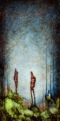 "Image of ""Drip Human Two 1"" <br> Size: 12x6"" <br> 2nd photo shows size"