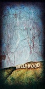 "Image of ""Hollywood Series, Sign"" <br> Size: 12x6"" <br> 2nd photo shows size"