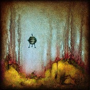 "Image of ""Drip UFO 1"" <br> Sizes: 4x4"", 6x6"", 8x8"", 12x12"""