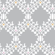 Image of leaf damask sample