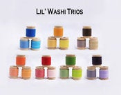 Image of Lil' WASHI TRIOS 21 Total Rolls