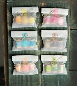 Image of Washi Tape Trio Party Favors Set of 12