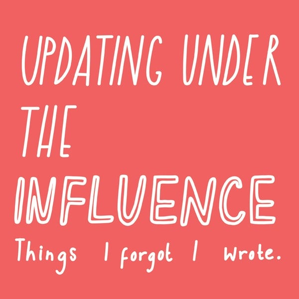 Image of Updating under the Influence - Sally Beerworth's e book