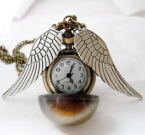 Image of The Golden Watch-Necklace