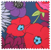 Image of poppy mix fabric