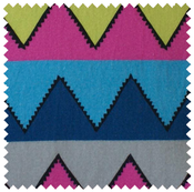 Image of zigzag fabric