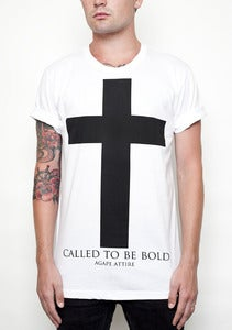 Image of &quot;Called To Be Bold&quot; White Shirt