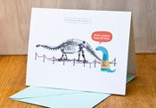 "Image of Awkward Dinosaur - ""Belated Happy Birthday"""