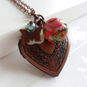 Image of Forever in my Heart Locket Necklace