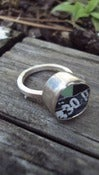 Image of chunky silver ring 330