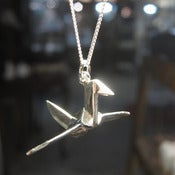 Image of Sterling Silver Crane