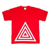 Image of TRIANGLE RED T-SHIRT - LTD EDITION