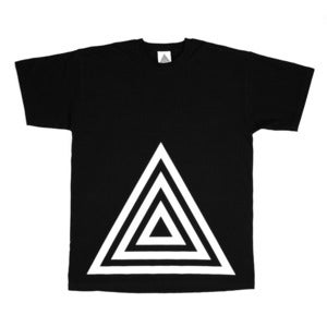 Image of TRIANGLE NOIR T-SHIRT