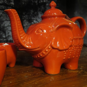 Image of Elephant Teapot