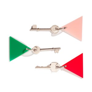 Image of TRIANGLE KEYRING