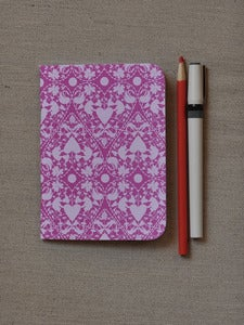 Image of Small Pink Doily Notebook