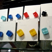 Image of Glass studs