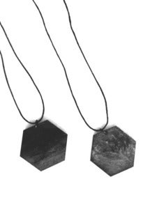 Image of Sequences - Hexagon Pendant - New Stock!