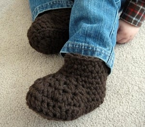 Image of Warm Winter Booties