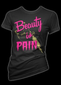 Image of Beauty is Pain T-Shirt Style # 3086