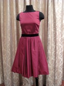 Image of D&G Berry Taffeta party dress SZ 42/8