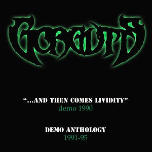 Image of GORGUTS - And Then Comes Lividity, Demo Anthology CD + bonus CD