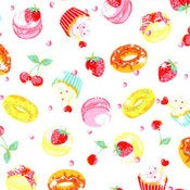 Sweets hand-made cushion
