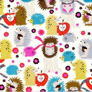 Hedgehog Meadow cushion