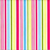 Candy Stripes hand-made cushion