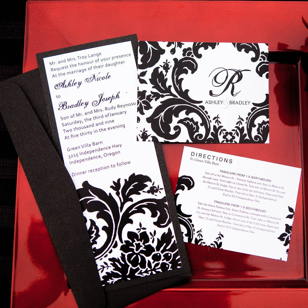 shop for party invitations by patterns and designs invitation box