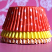 Image of Orange Cupcake Set