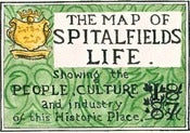 Image of The Map of Spitalfields Life (Herb Lester Edition)
