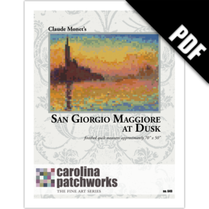 Image of No. 049 -- San Giorgio Maggiore at Dusk {PDF Version}