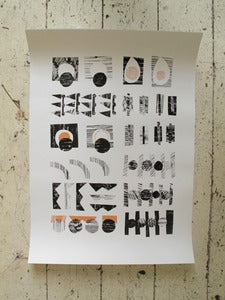 Image of Abstract Screen Print