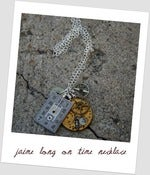 Image of Jaime long on time necklace