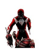 Image of RED POWER RANGER - ZEDD'S DEAD