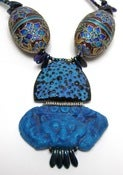 Image of 'Tibetan Beastie' Hinged Necklace