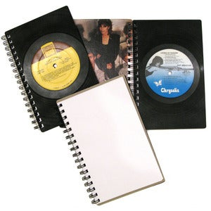 Image of Vinyl Record Notebooks