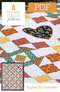 Image of Home for Harvest: PDF Quilting Pattern #110