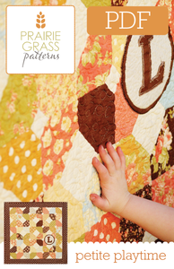 Image of Petite Playtime: PDF Quilting Pattern #107