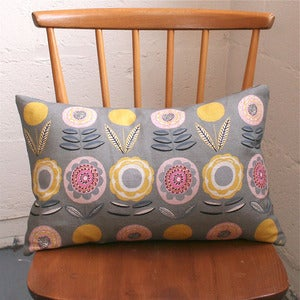 Image of Lollipop Khaki Rectangular Scatter Cushion - Made to Order