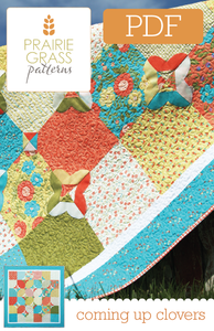 Image of Coming Up Clovers: PDF Quilting Pattern #108