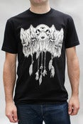 Image of Cat Skull Trinkets Tee Shirt in Black - Mens/Unisex