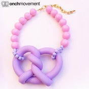 Image of Giant Purple Onch Pretzel